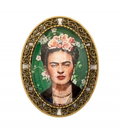 Broche Ovalado Frida Crown