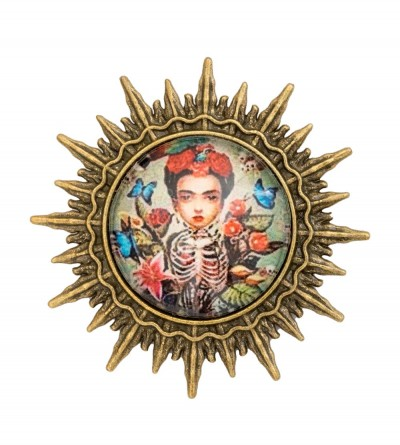 Broche Sol Frida Butterfly