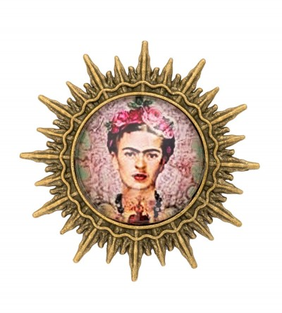 Broche Sol Frida Rose