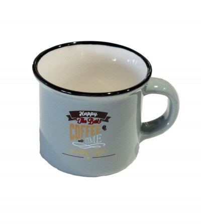 Taza Gris Coffee